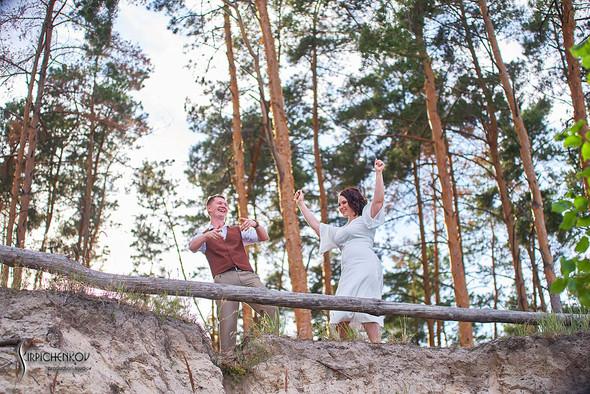 Свадебные фото в Сухолучье, Киевское море и сьемка в поле  - фото №10