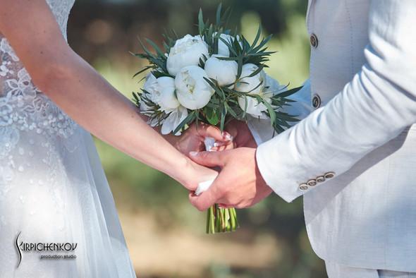 Свадебные фото на территории Соби Клаб, выездная церемония - фото №83
