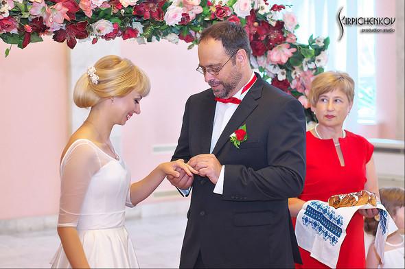 Свадебные фото на море в Одессе, фото в Оперном театре и на маковом поле - фото №87