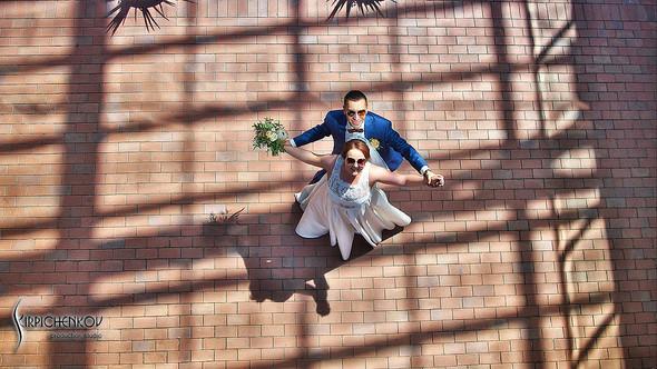 Свадебные фото на Мануфактуре и выездная церемония в ресторане Kidev - фото №49