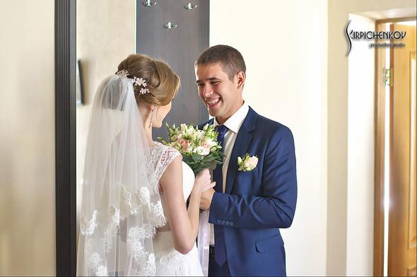 Свадебные фото в каньоне Буки и выездная церемония в ресторане Фортеця - фото №23