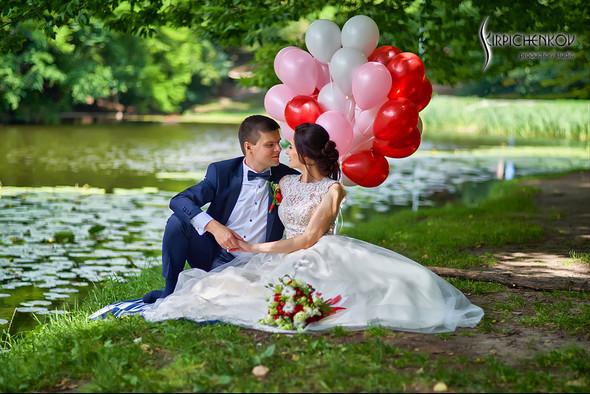 Свадьба на природе возле частного дома с выездной церемонией - фото №34