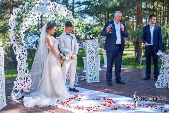 Свадебные фото на территории Соби Клаб, выездная церемония - фото №79