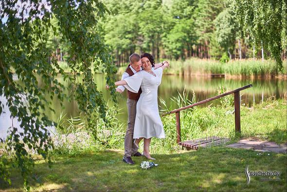 Свадебные фото в Сухолучье, Киевское море и сьемка в поле  - фото №44
