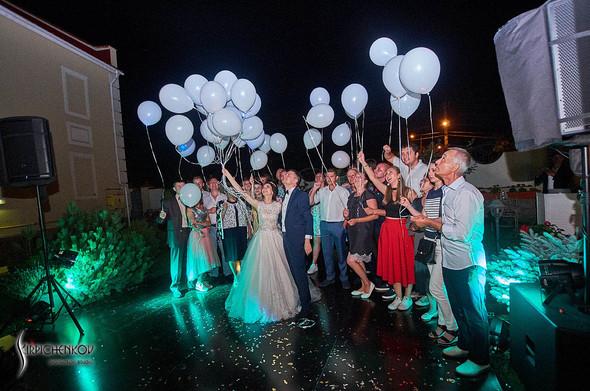 Свадьба на природе возле частного дома с выездной церемонией - фото №99