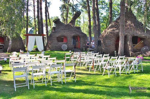 Свадебные фото на Мануфактуре и выездная церемония в ресторане Kidev - фото №66