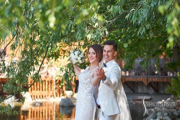 Свадебные фото на территории Соби Клаб, выездная церемония - фото №33