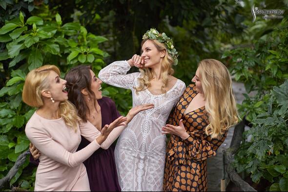 Свадебные фото в Оранжерее в Киеве, студийная сьемка в фотостудии Счастье - фото №18