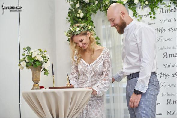 Свадебные фото в Оранжерее в Киеве, студийная сьемка в фотостудии Счастье - фото №28