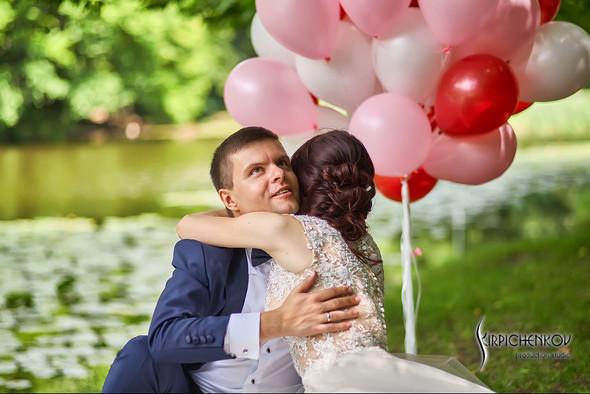 Свадьба на природе возле частного дома с выездной церемонией - фото №35