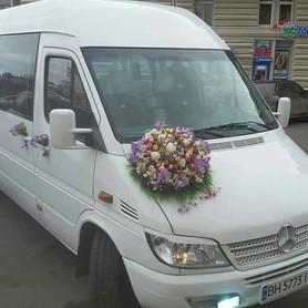 Mersedes Sprinter - авто на свадьбу в Одессе - портфолио 1