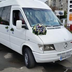 Mersedes Sprinter - авто на свадьбу в Одессе - портфолио 3