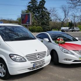 Mersedes Sprinter - авто на свадьбу в Одессе - портфолио 5
