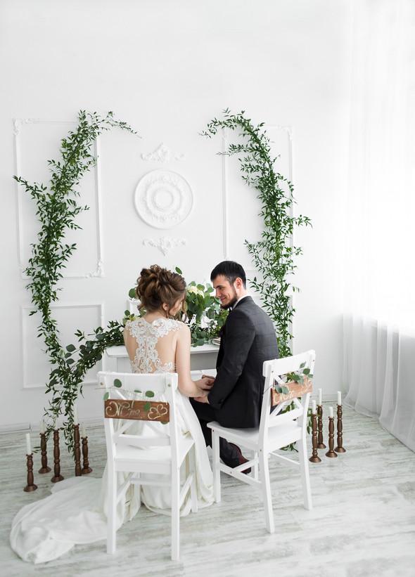 Свадебная фотосессия - фото №7