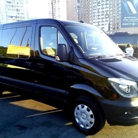 Микроавтобус Mercedes Sprinter 316 NEW черный VIP - авто на свадьбу в Киеве - портфолио 2