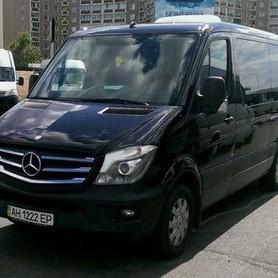 Микроавтобус Mercedes Sprinter 316 NEW черный VIP - авто на свадьбу в Киеве - портфолио 1
