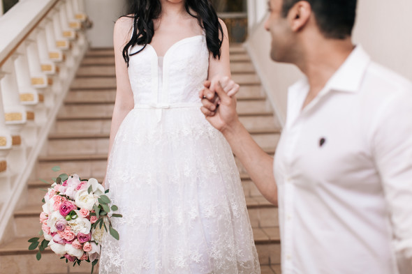 Свадьба Анастасии и Карена - фото №11