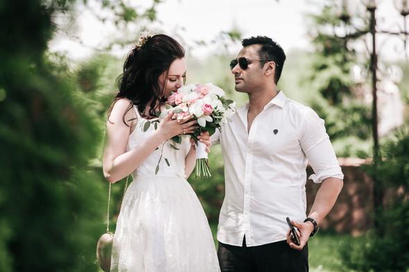 Свадьба Анастасии и Карена - фото №18