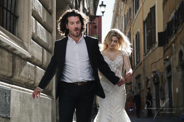 Свадьба Джека и Вероники в Риме - фото №34