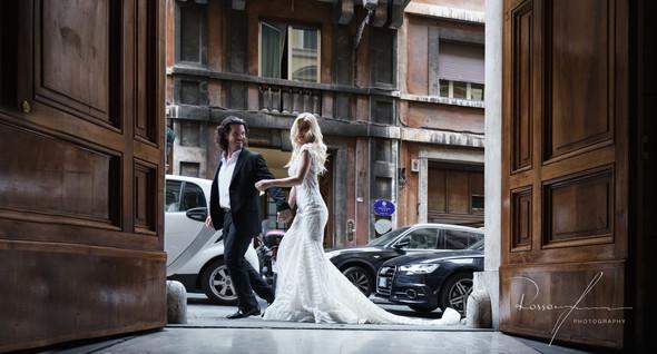 Свадьба Джека и Вероники в Риме - фото №13