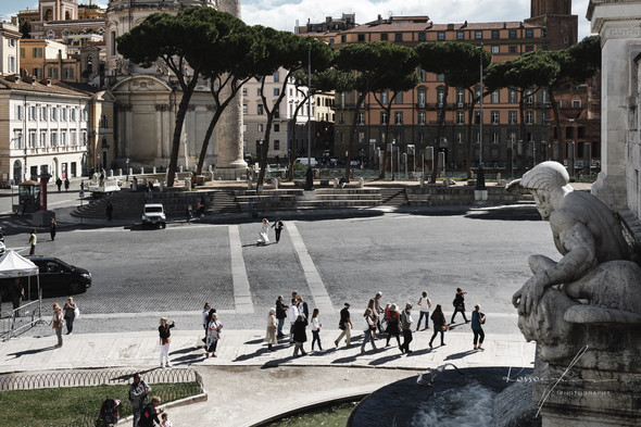 Свадьба Джека и Вероники в Риме - фото №35