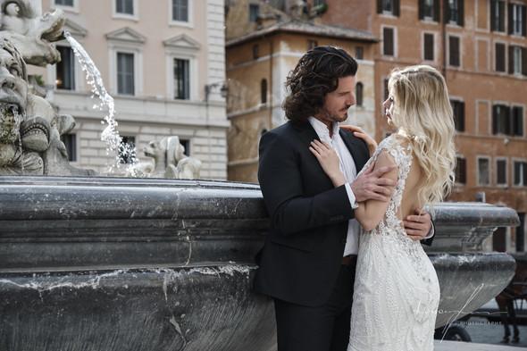 Свадьба Джека и Вероники в Риме - фото №25