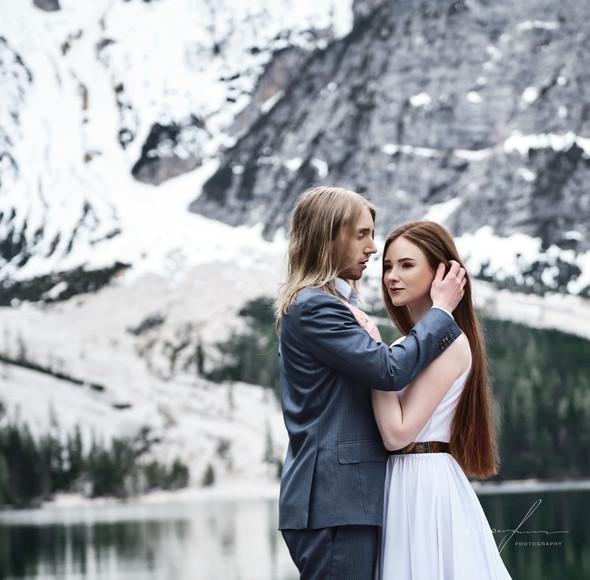 Свадьба Александры и Норика на озере Браес - фото №18