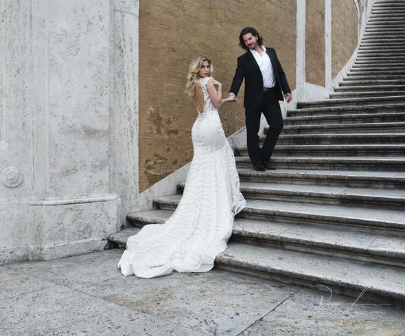 Свадьба Джека и Вероники в Риме - фото №10