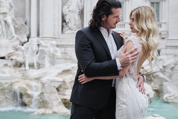 Свадьба Джека и Вероники в Риме - фото №20