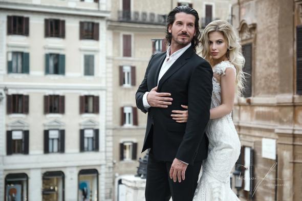 Свадьба Джека и Вероники в Риме - фото №8