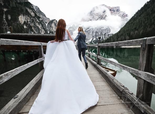 Свадьба Александры и Норика на озере Браес - фото №5