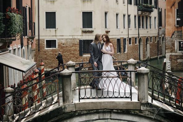 Свадьба Александры и Норика в Венеции - фото №19