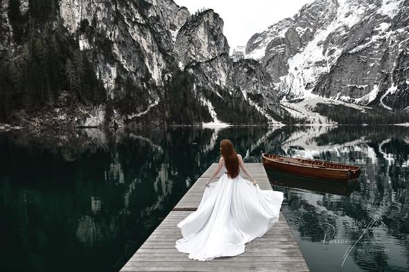 Свадьба Александры и Норика на озере Браес - фото №11