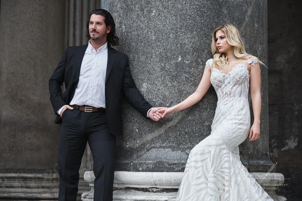 Свадьба Джека и Вероники в Риме - фото №22