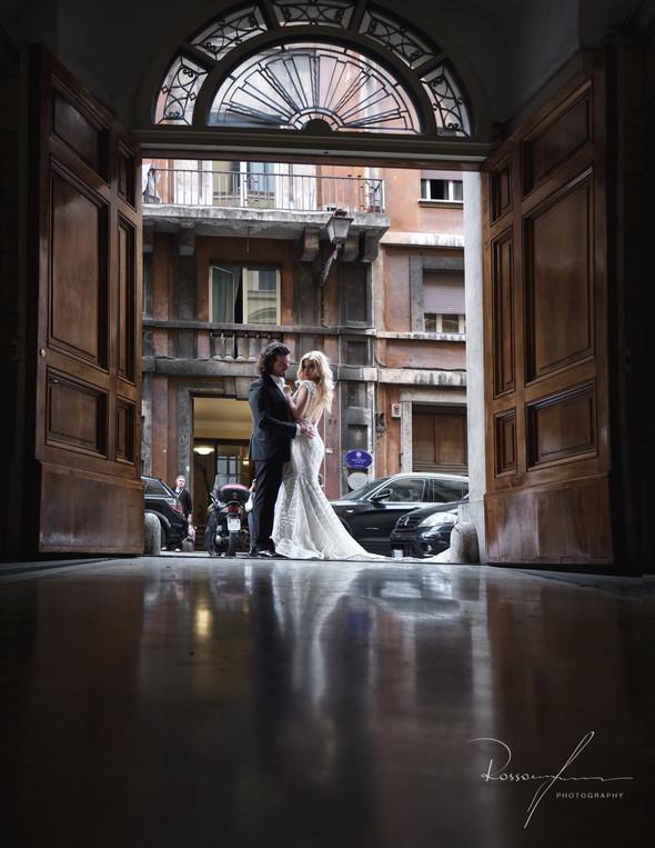 Свадьба Джека и Вероники в Риме - фото №12