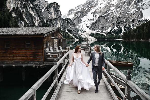 Свадьба Александры и Норика на озере Браес - фото №4