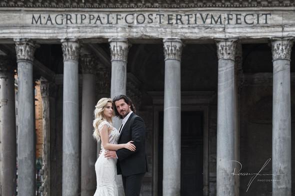 Свадьба Джека и Вероники в Риме - фото №23