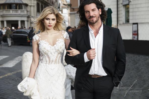 Свадьба Джека и Вероники в Риме - фото №14