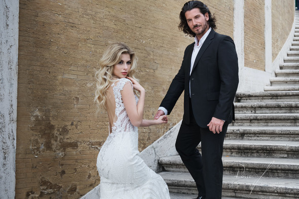 Свадьба Джека и Вероники в Риме - фото №11