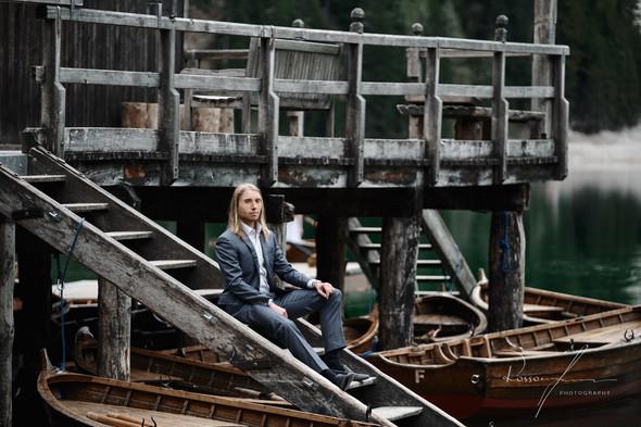 Свадьба Александры и Норика на озере Браес - фото №27