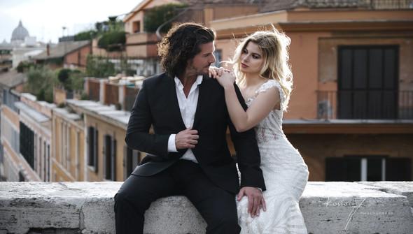 Свадьба Джека и Вероники в Риме - фото №16