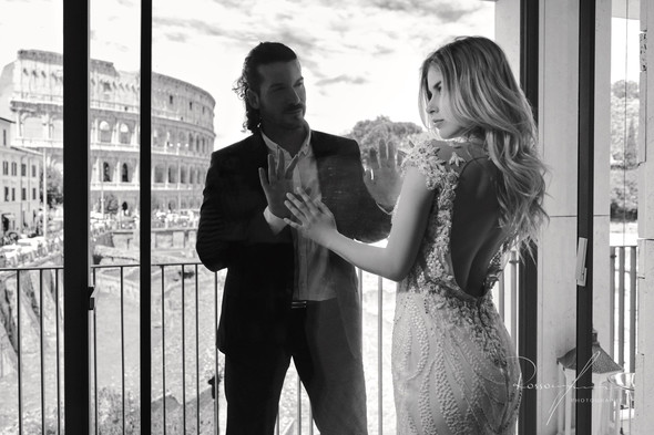 Свадьба Джека и Вероники в Риме - фото №36