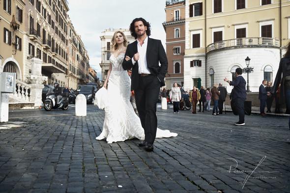 Свадьба Джека и Вероники в Риме - фото №15