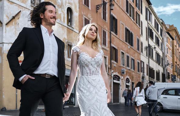 Свадьба Джека и Вероники в Риме - фото №31