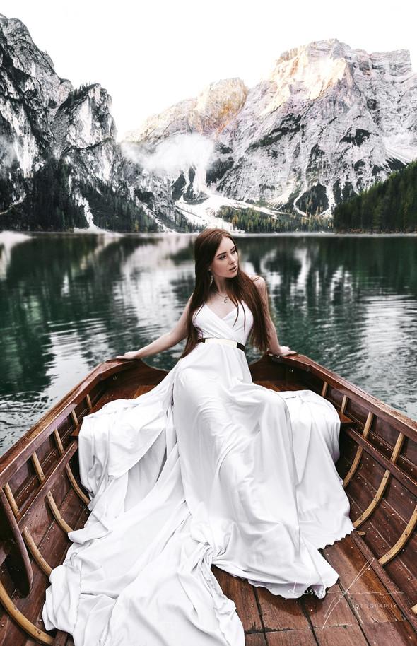 Свадьба Александры и Норика на озере Браес - фото №25