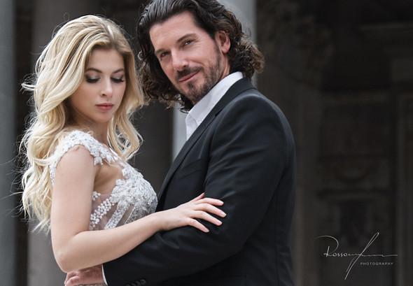 Свадьба Джека и Вероники в Риме - фото №24