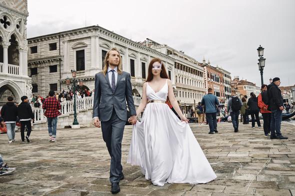 Свадьба Александры и Норика в Венеции - фото №33