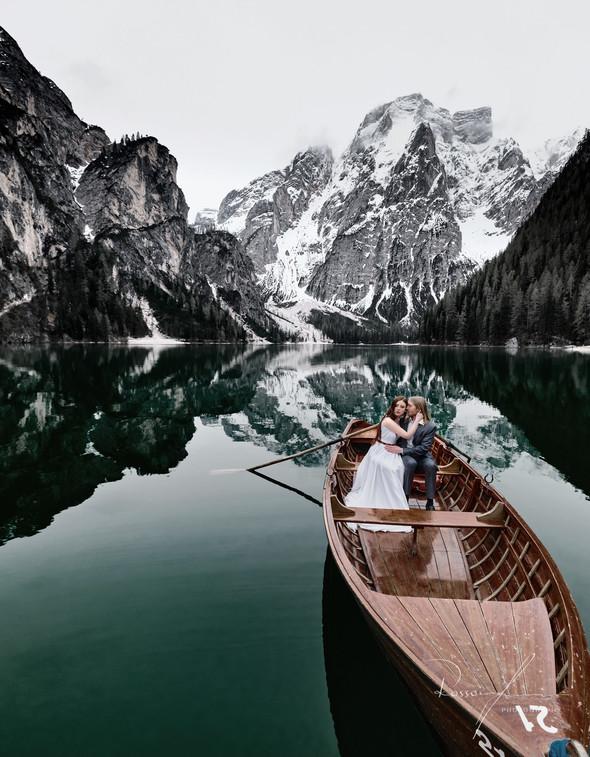 Свадьба Александры и Норика на озере Браес - фото №20