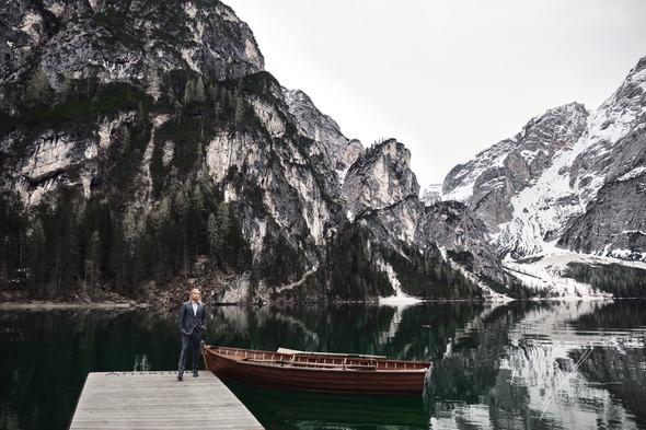 Свадьба Александры и Норика на озере Браес - фото №15