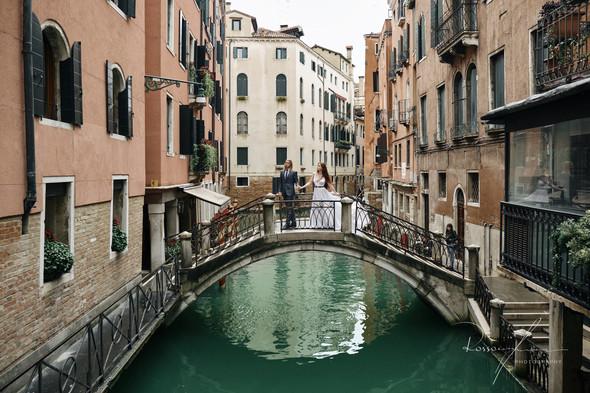 Свадьба Александры и Норика в Венеции - фото №18